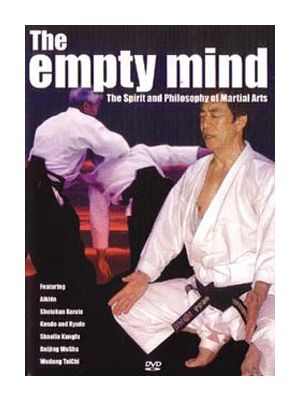 dvd video empty mind martial arts