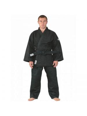 črno judo ju-jitsu kimono