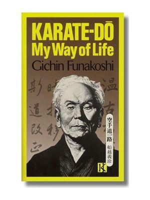 knjiga karate-do my way of life funakoshi