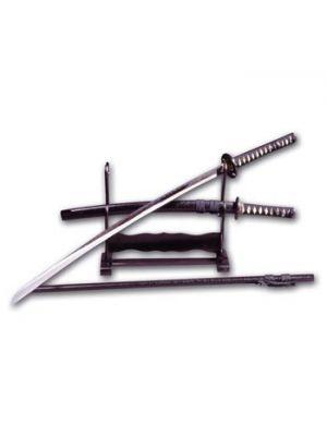 leseno sestavljico stohalo za dva meča1