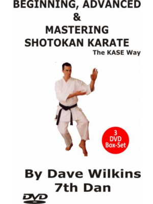 dvd video karate shotokan set