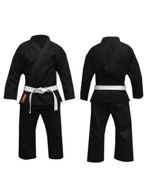 črno ju-jitsu ninjutsu kimono