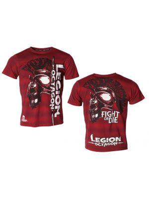 rdeča mma t-shirt majica1