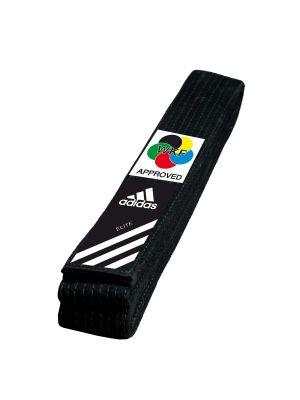 wkf karate črn pas adidas