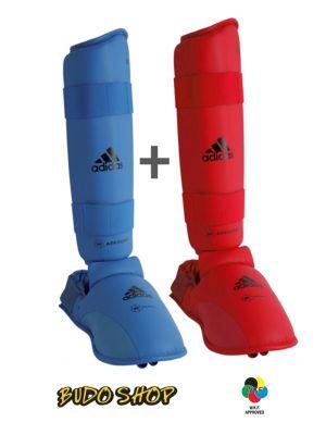 Set ščitnikov za piščal in stopalo ''Adidas KUMITE'' (CE)