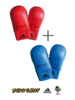 wkf karate rokavice set komplet adidas1