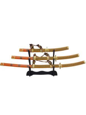 Tachi set treh mečev