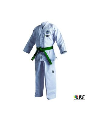 itf taekwondo kimono dobok adidas