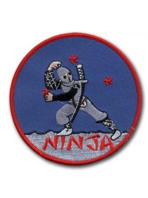 vezen našitek ninja star