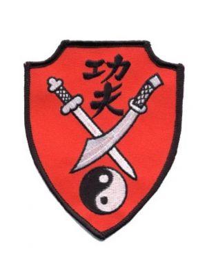 našitek borilne veščine kung fu