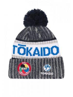 platnena zimska wkf karate kapa tokaido modra1