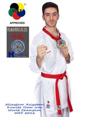 wkf kumite karate kimono kamikaze