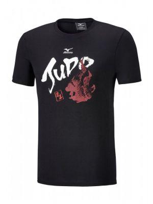 črna judo t-shirt majica mizuno1