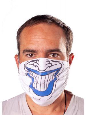 Prilagodljiva pralna obrazna zaščitna obrazna maska z motivom nasmeha1