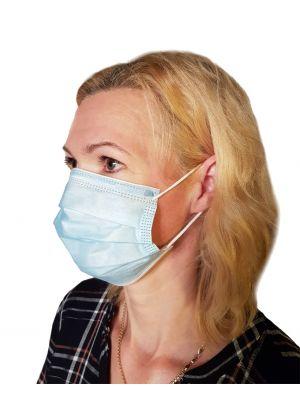 Troslojna kirurška obrazna maska1