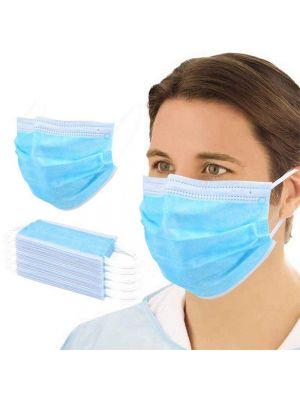troslojna kirurška obrazna maska set 1
