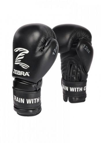 usnjene zebra boksarske kickbox rokavice1